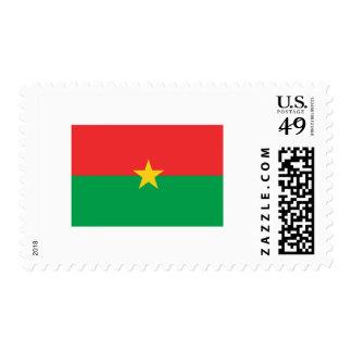 Burkina Faso FLAG International Stamps