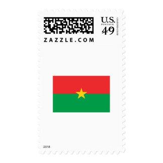 Burkina Faso FLAG International Postage Stamp