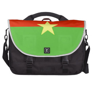 Burkina Faso Flag Laptop Bags