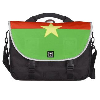 Burkina Faso Flag Laptop Computer Bag
