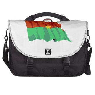 Burkina Faso Flag Commuter Bags