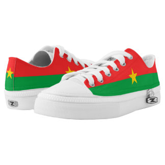 Burkina Faso Flag Low-Top Sneakers