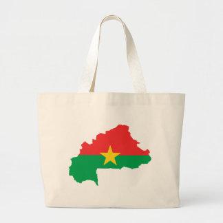 Burkina Faso Flag map BF Bags
