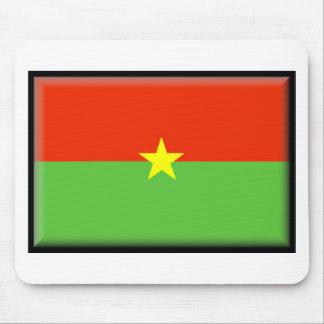 Burkina Faso Flag Mouse Pad