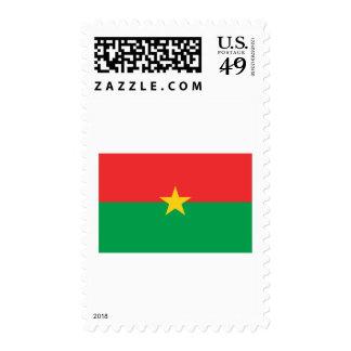 Burkina Faso Flag Postage Stamp