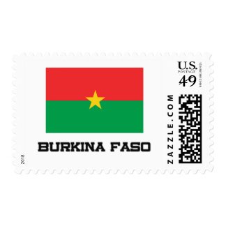 Burkina Faso Flag Postage