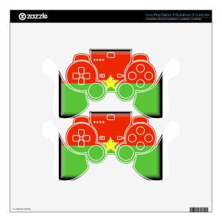 Burkina Faso Flag PS3 Controller Skins