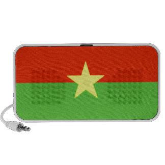 Burkina Faso Flag Notebook Speakers