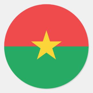 Burkina Faso Flag Sticker