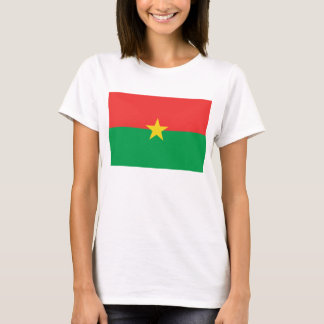 Burkina Faso Flag x Map T-Shirt