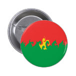 Burkina Faso Gnarly Flag Pins