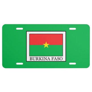 Burkina Faso License Plate