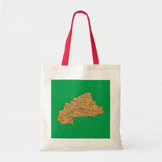 Burkina Faso Map Bag