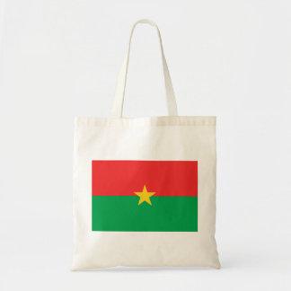 Burkina Faso National World Flag Tote Bag