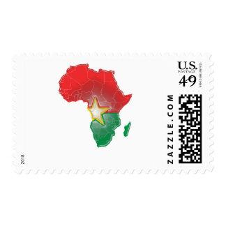Burkina Faso Postage