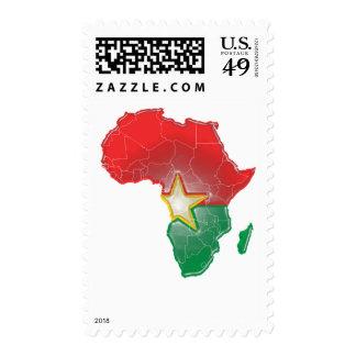 Burkina Faso Postage Stamp