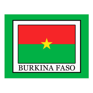 Burkina Faso Postcard