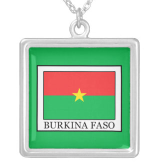 Burkina Faso Silver Plated Necklace