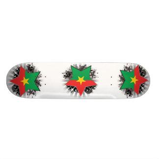 Burkina Faso Star Custom Skateboard