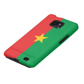 Burkina Flag Samsung Galaxy SII Case