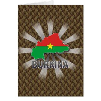 Burkina Flag Map 2.0 Card