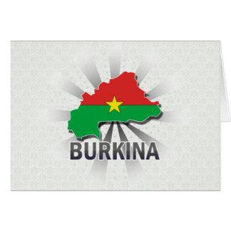 Burkina Flag Map 2.0 Cards