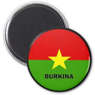 Burkina Roundel quality Flag Refrigerator Magnets