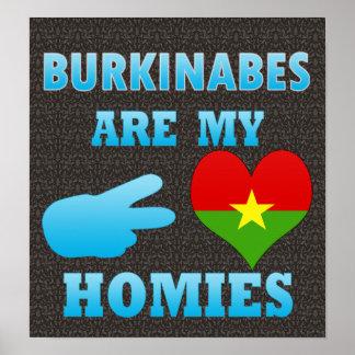 Burkinabes are my Homies Print