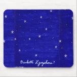 """Burkitt&#39;s Lymphoma mousepad<br><div class=""""desc"""">Burkitt&#39;s lymphoma has a starry sky pattern.</div>"""