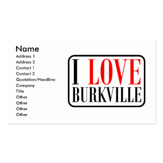 Burkville, Alabama City Design Double-Sided Standard Business Cards (Pack Of 100)
