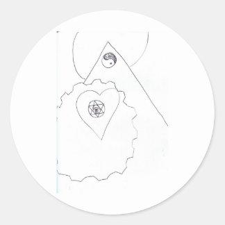 Burla 555 de la canción del símbolo de la clase etiquetas redondas