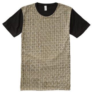 Burlap All-Over-Print Shirt