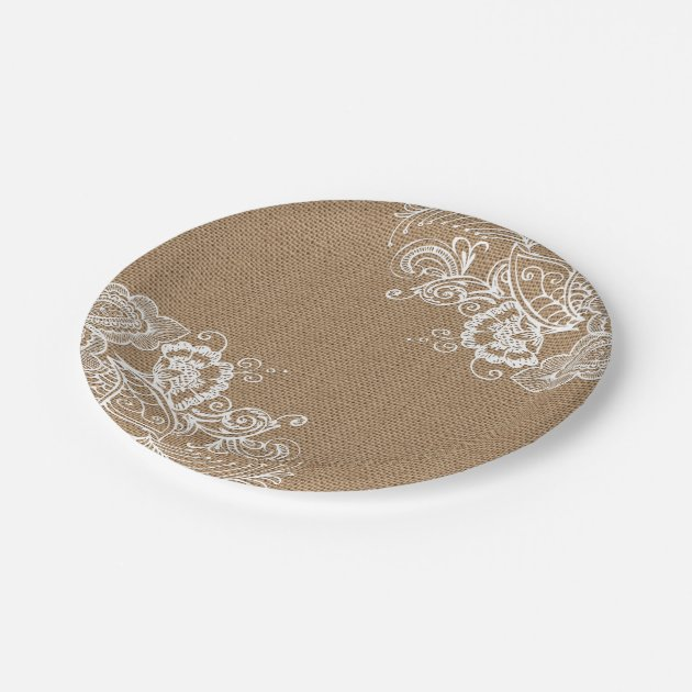 shabby chic paper plates Choose from a variety of shabby and chic plate designs or create your own shop now for custom plates & more burlap and lace shabby chic paper plates $170.