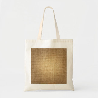 Burlap Background Template Textured Look Tote Bag