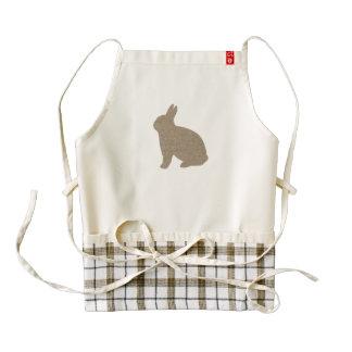Burlap Bunny Apron