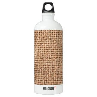 Burlap Fabric style Jute Look SIGG Traveler 1.0L Water Bottle