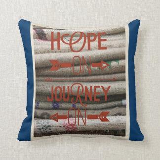 ~ Burlap ~ Hope pillow ~ sweet inspiration