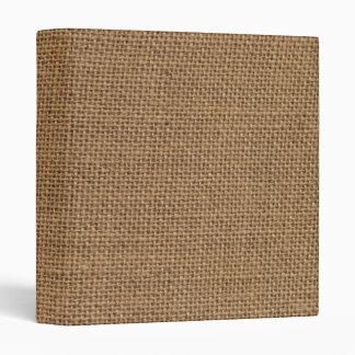Burlap jute sack texture binder