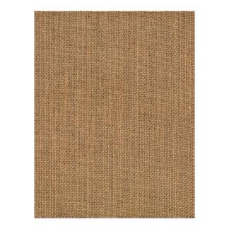 Burlap jute sack texture scrapbook paper
