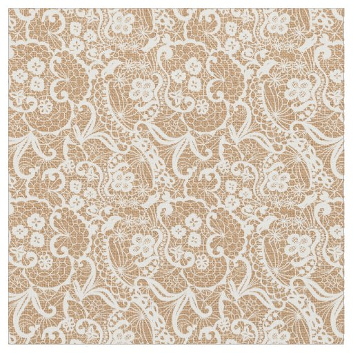 Burlap lace fantasy design fabric material for What is burlap material