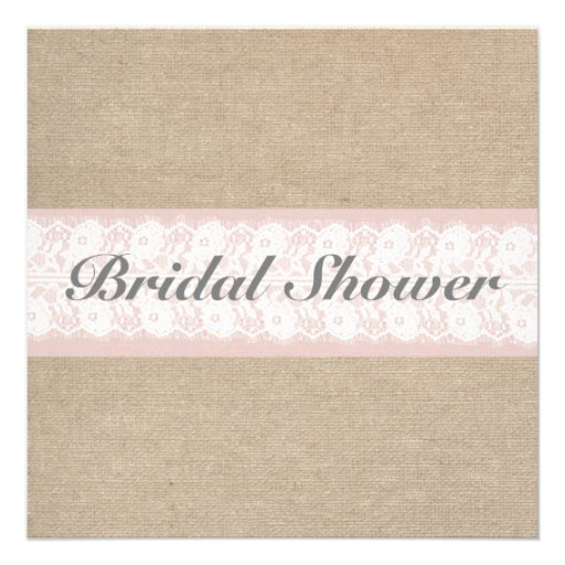 Personalized Blush bridal shower Invitations CustomInvitations4Ucom