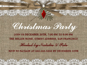 60 off vintage 6x8 christmas invitations shop now to save zazzle
