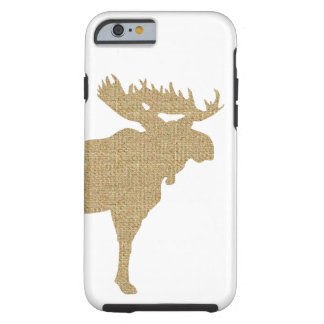 Burlap Moose iPhone 6 Case