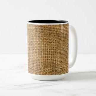 """""""Burlap"""" Mug"""