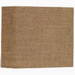 Burlap sack (jute) texture binder
