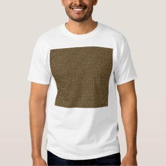 Burlap Texture Background T Shirt