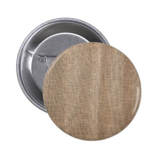 Burlap texture with thick and coarse thread pinback button