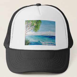 Burleigh Heads Views Trucker Hat