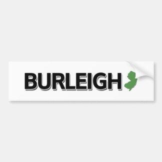 Burleigh, New Jersey Bumper Sticker