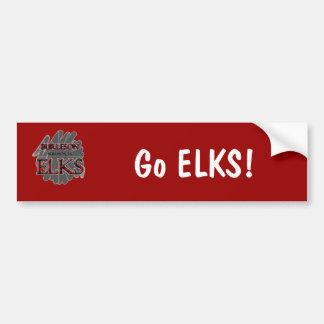 Burleson High School ELKS - Burleson, TX Car Bumper Sticker